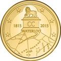 Бельгия 2,5 евро 2015 200 лет Битвы при Ватерлоо Коинкарта (2015 Belgium 2,5E 200 Yrs Battle of Waterloo Coincard).Арт.000100050800/60