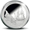 Аруба 5 флоринов 2015 200 лет нахождения в составе Королевства Нидерландов Корабль.Арт.000294151030/60