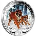 Тувалу 1 доллар 2012.Амурский тигр – Дикая природа в опасности.Арт.000246145541/60