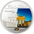 Палау 5 долларов 2009.Падение Берлинской стены.Арт.60