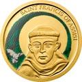Палау 1 доллар 2008.Святой Франциск Ассизский.Арт.60