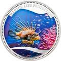 Палау 5 долларов 2009.Красная крылатка (Red Lionfish) – Защита морской жизни.Арт.60