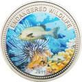 Палау 1 доллар 2011.Рыба Медный Морской Окунь (Copper Rockfish) – Под угрозой исчезновения.Арт.0400280313/60
