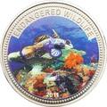 Палау 1 доллар 2011.Рыба Мандарин (Mandarinfish) – Под угрозой исчезновения.Арт.0400280313/60