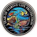 Палау 1 доллар 1992.Морская фауна рыбы – Защита морской жизни.Арт.000040047746/60