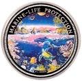 Палау 1 доллар 1993.Морская фауна – Защита морской жизни.Арт.000040047746/60