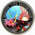 Палау 1 доллар 1994.Рыба клоун – Защита морской жизни.Арт.000040041814/60