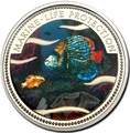 Палау 1 доллар 2001.Морская Рыба – Защита морской жизни (голограмма).Арт.000040047750/60