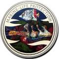 Палау 1 доллар 2002.Морская Рыба – Защита морской жизни (голограмма).Арт.000046043290/60
