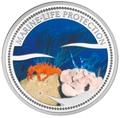 Палау 1 доллар 2003.Морской краб – Защита морской жизни.Арт.000040047753/60