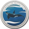 Палау 1 доллар 2003.Косатка – Защита морской жизни.Арт.000031942316/60