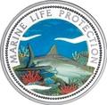 Палау 1 доллар 1999.Акула – Защита морской жизни.Арт.000040041820/60