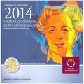 Австрия 3,88 евро 2014.Официальный годовой набор евро.Арт.60