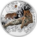 Ниуэ 1 доллар 2014.Амурский Леопард – Вымирающие виды животных.Арт.000465249785/60