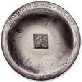 Острова Кука 5 долларов 2015.Метеорит NWA 4037.Арт.60