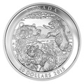 Канада 20 долларов 2015.Медведи Гризли.Арт.60