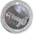 Казахстан 500 тенге 2009.Космос – Космические корабли Союз-Аполлон.Арт.000210045109/60