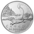 Канада 50 долларов 2015.Бобр (блистер).Арт.60