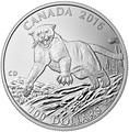 Канада 100 долларов 2016.Пума.Арт.60