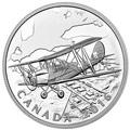 Канада 20 долларов 2016.Самолет - Тигровая бабочка серия Канадский тыл.Арт.60
