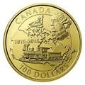 Канада 100 долларов 2015.Премьер-министр Канады Джон Макдональд - Поезд.Арт.60