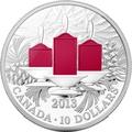 Канада 10 долларов 2013.Празднечные свечи.Арт.000216545677/60