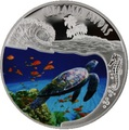 Руанда 500 франков 2010.Черепаха - Chelonia mydas.Арт.60