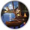 Канада 30 долларов 2015.Светлячки в лунном свете.Арт.60