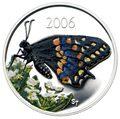 Канада 50 центов 2006.Бабочка.Арт.60