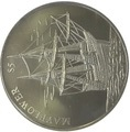 Либерия 5 долларов 2000.Корабль Мэйфлауэр – Легенды Океана (слаб).Арт.000045947489/60