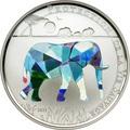 Того 1000 франков 2011.Слон (призма).Арт.000224334333/60