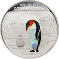 Острова Кука 1 доллар 2013.Пингвин (призма).Арт.000070442575/60