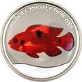 Конго 10 франков 2005.Рыба - Цыклида (призма).Арт.60