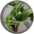 Габон 2000 франков 2013.Змея (зеленая).Арт.000947048770/60