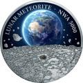Ниуэ 50 долларов 2015.Лунный метеорит - Lunar NWA 5000 (килограмм).Арт.60