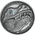 Буркина Фасо 1000 франков 2016.Динозавр – Тираннозавр Рекс (эффект реальных глаз).Арт.60