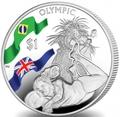 Британские Виргинские Острова 1 доллар 2016.Волейбол – Олимпийские Игры в Бразилии.Арт.60