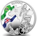 Британские Виргинские Острова 1 доллар 2016.Триатлон – Олимпийские Игры в Бразилии (велосипед бег плавание).Арт.60
