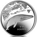 Южная Георгия и Южные Сендвичевы острова 2 фунта 2016.Кит – малый полосатик (C-N).Арт.60