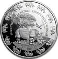 Бенин 1000 франков 2016.Носорог серия Охрана природы.Арт.60