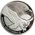 Новая Зеландия 5 долларов 2016 Орел Хааста (New Zealand 5$ 2016 Haast's Eagle 1oz Silver Coin).Арт.