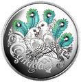 Канада 10 долларов 2016.Голуби Любовь всей жизни.Арт.60