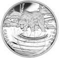 Канада 10 долларов 2016.Медведь Гризли серия Отражение живой природы.Арт.60
