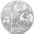 Франция 10 евро 2016.Тестон Франциска I (Монеты на монетах).Арт.60
