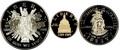 Соединенные Штаты Америки 1 доллар + 5 долларов + пол доллара 1989.200 лет Конгрессу США (1989 US Congressional - Three (3) Coin Commemorative Proof Set).Арт.60