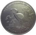 Конго 1000 франков 2012.Птица – Кафрский рогатый ворон (Bucorvus cafer).Арт.60