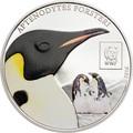 Танзания 100 шиллингов 2016.Императорский пингвин - WWF.Арт.60
