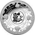 Австралия 5 долларов 2009.Метеорит Кампо-дель-Сьело (Campo del Cielo) – Международный год Астрономии.Арт.001368052244/60