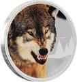 Ниуэ 2 доллара 2016.Серый Волк серия Короли Континентов.Арт.60