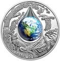 Канада 20 долларов 2016.Мать Земля – 3D капля воды.Арт.60